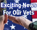 Good news for our Vets